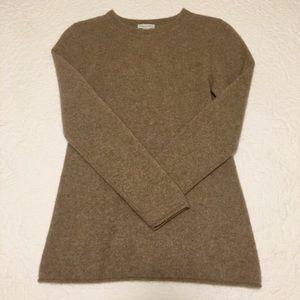 Garnet Hill 100% Cashmere Sweater, Taupe
